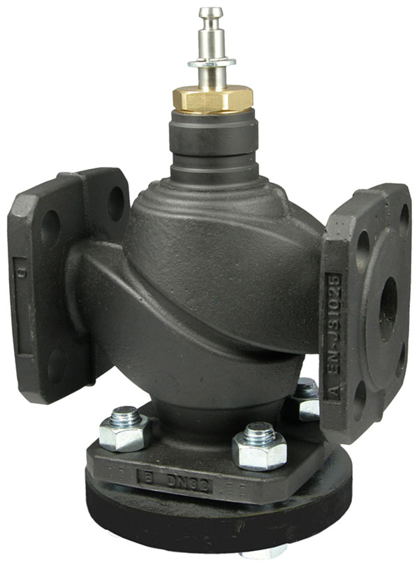 2-way flanged valve, PN 25/16 (el.)